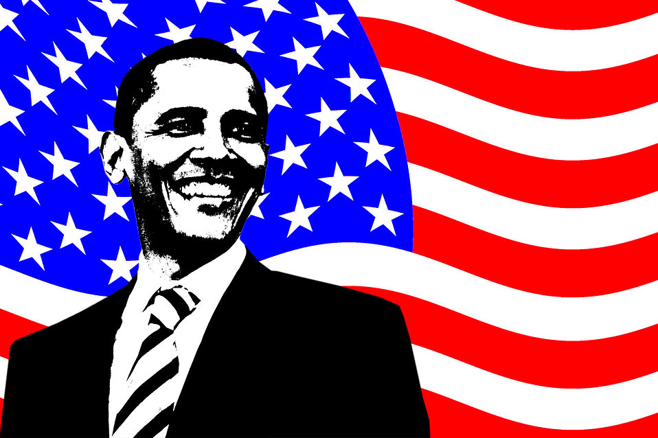 Obama Free Stock Photo An illustration of Barack Obama with an