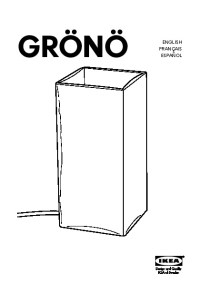 GRN Table lamp frosted glass (IKEA United States ...