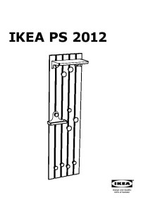 IKEA PS 2012 Hat and coat rack assorted colors (IKEA ...