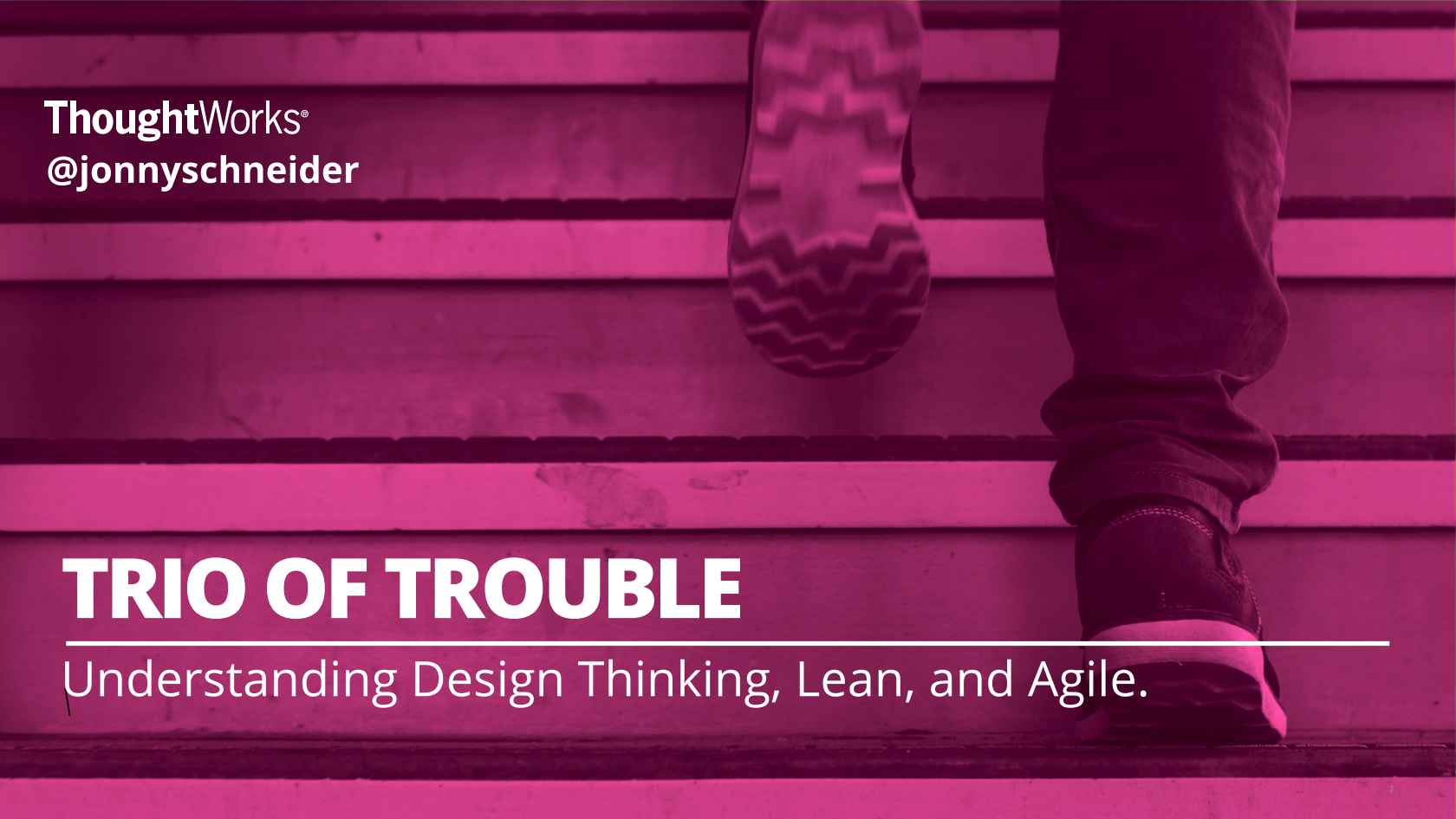 Schneider Barbados Test Trio Of Trouble Design Thinking Lean And Agile