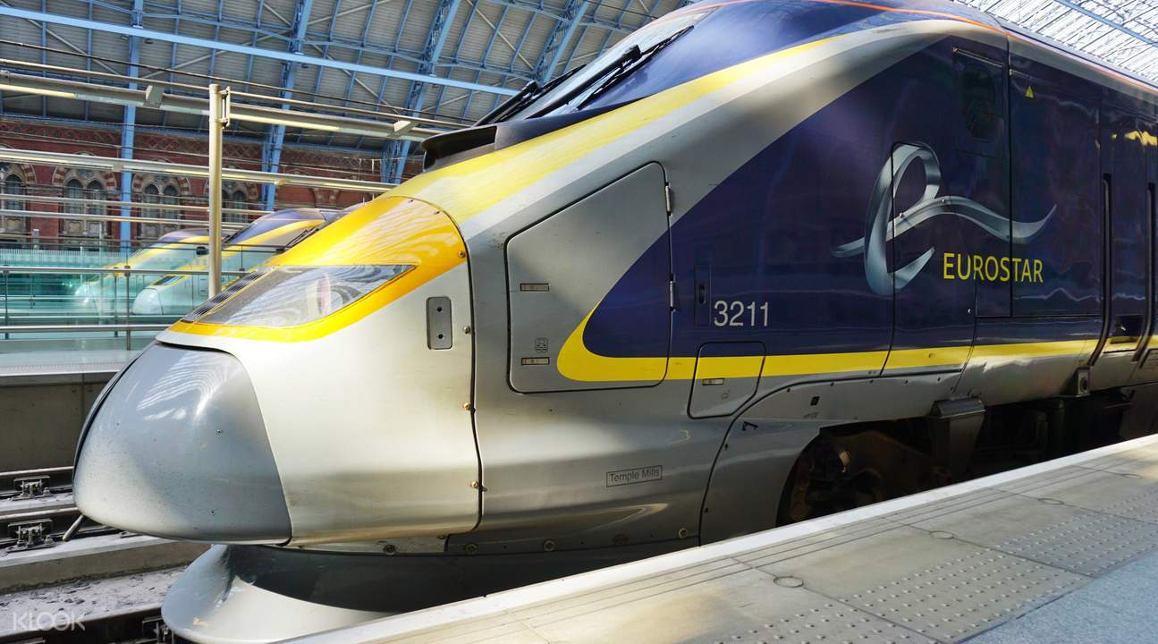 Paris Train Full Day Excursion To London From Paris By Eurostar Train