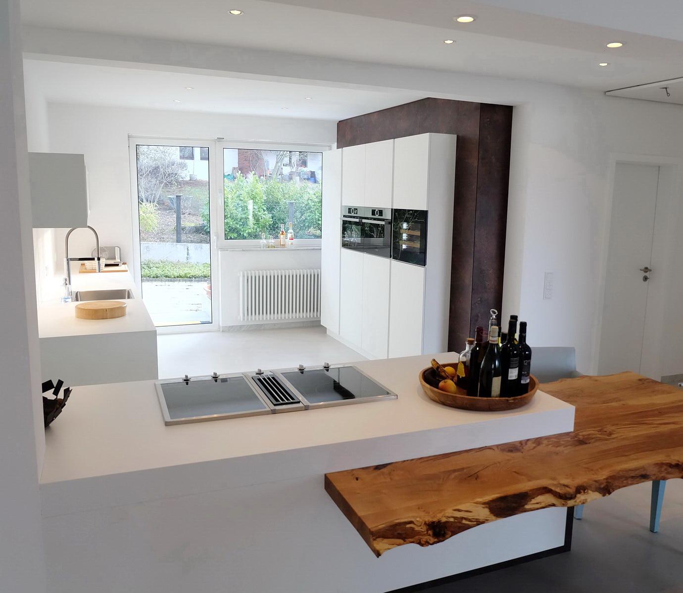Wandregal Küche Mit Schüben | Handwerk Resch Innenausbau