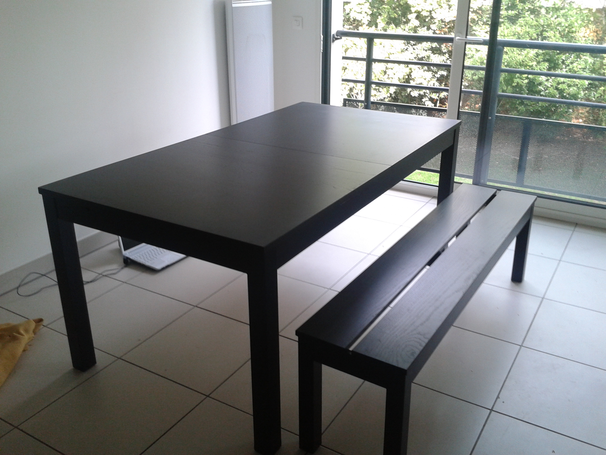 Table Et Banc Table A Manger Avec Banc