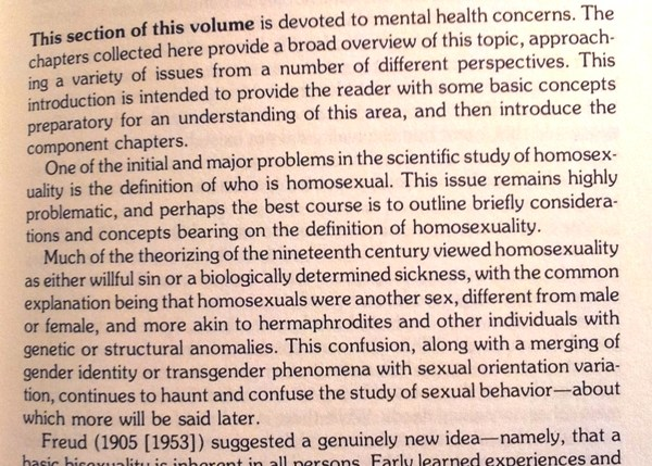 Homosexuality, social, psychological, and biological issues, 1982, p. 57