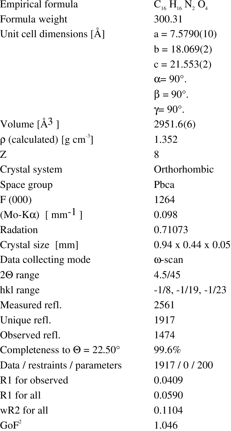 Structure Table Crystal Structure Data Download Table