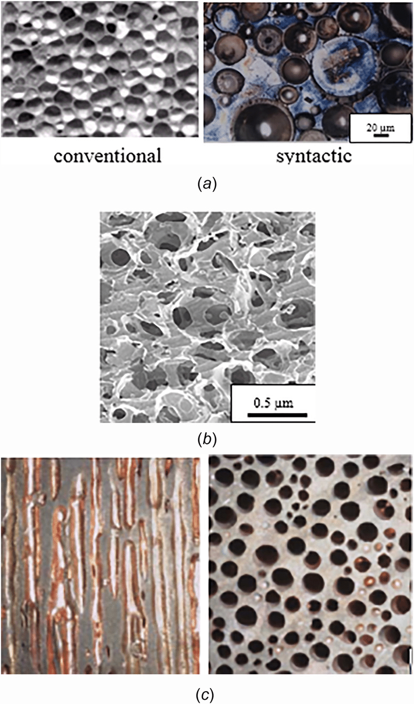 Different Types Of Foam Macrostructure Of Different Types Of Porous Materials A Al