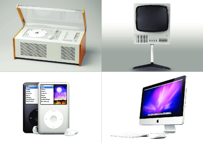 Examples Of Quot Good Quot Or Quot Bad Quot Design Top Left And Top Right The Braun Sk Download Scientific - Bad Design Apple