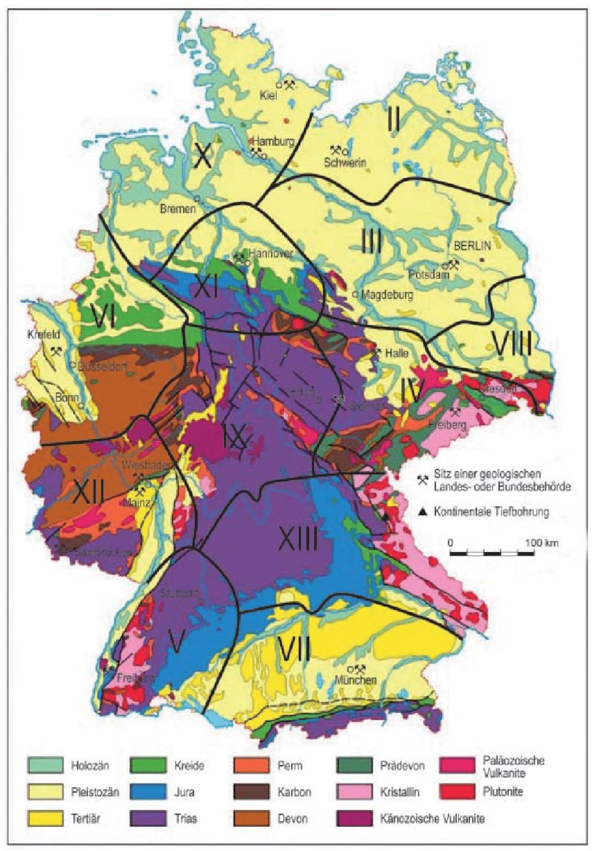Vorhangstoffe Berlin Wehrkreise Military Districts From Figure 1 Of The Second World
