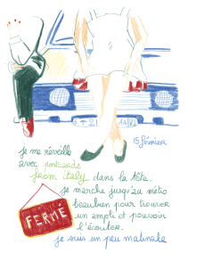Journal, Julie Delporte, extrait 09