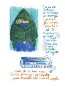 Journal, Julie Delporte, extrait 10
