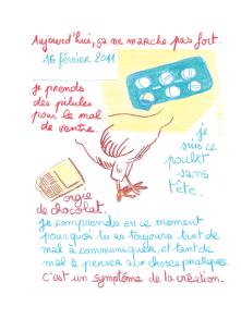 Journal, Julie Delporte, extrait 12