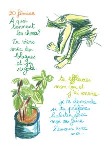 Journal, Julie Delporte, extrait 21