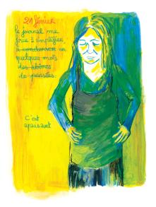 Journal, Julie Delporte, extrait 23