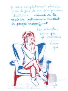 Journal, Julie Delporte, extrait 24