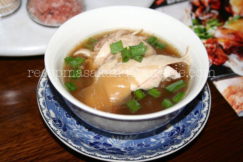 Resep Sup Ayam Rempah ala DAPUR ARIE