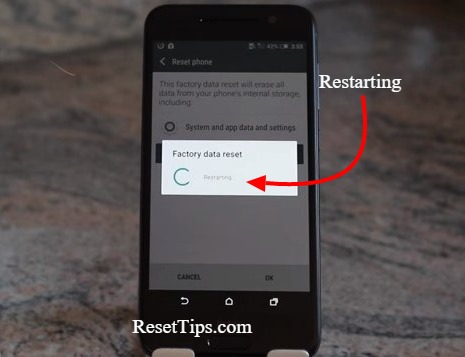 Factory reset htc one-by settings menu-6
