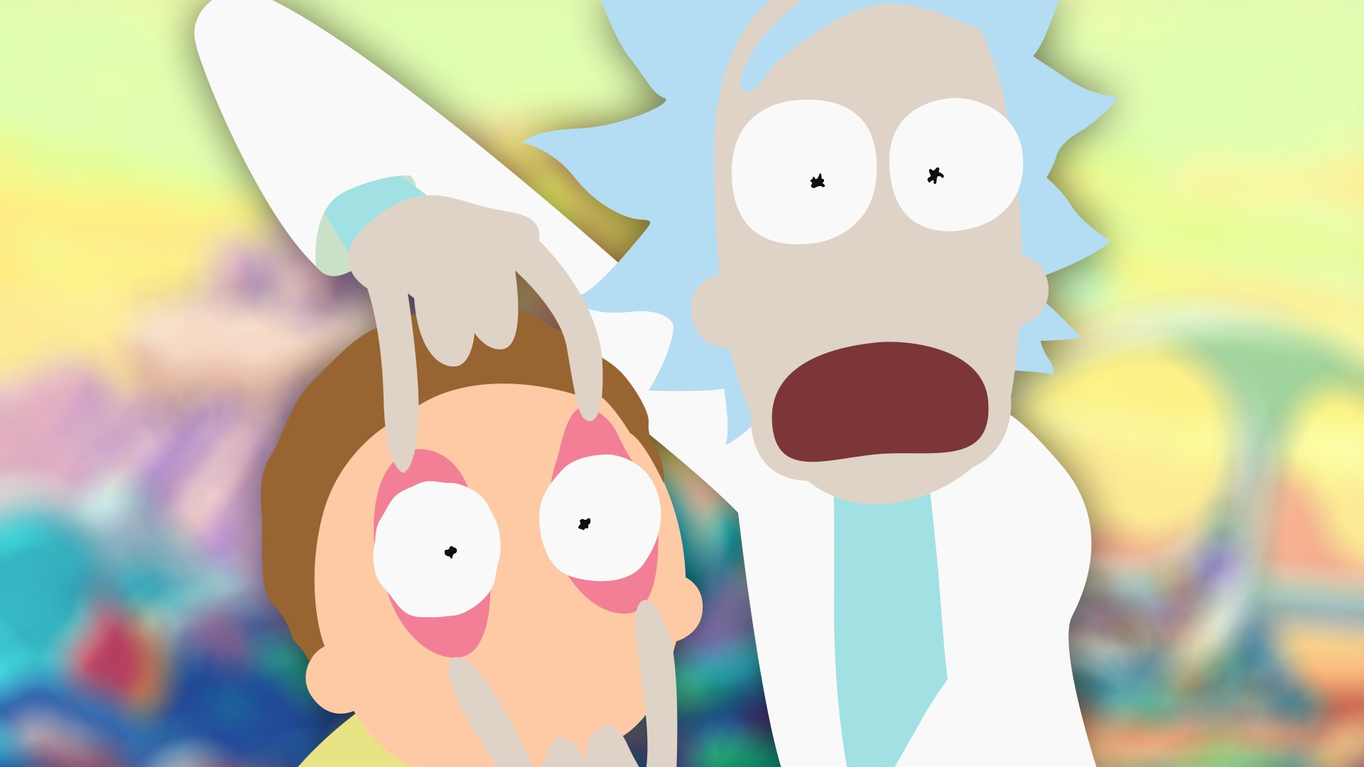 Rick And Morty Wallpaper Iphone Rick And Morty Simplistic Wallpapers