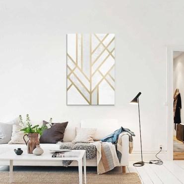 Chall l art accessible id es d co meubles et for Tableau salon scandinave