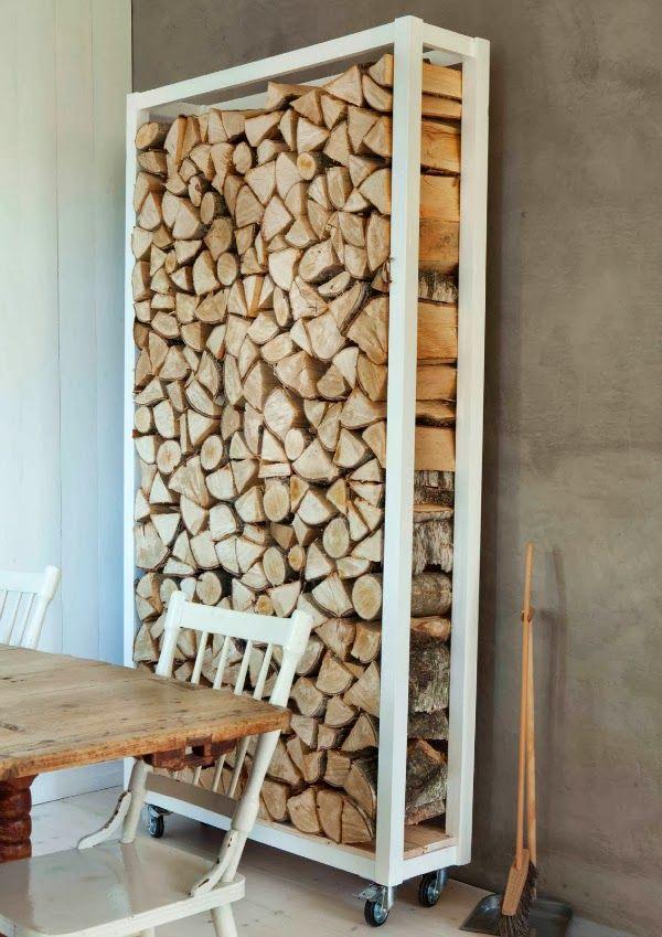 Wood Storage Ideas Inside House