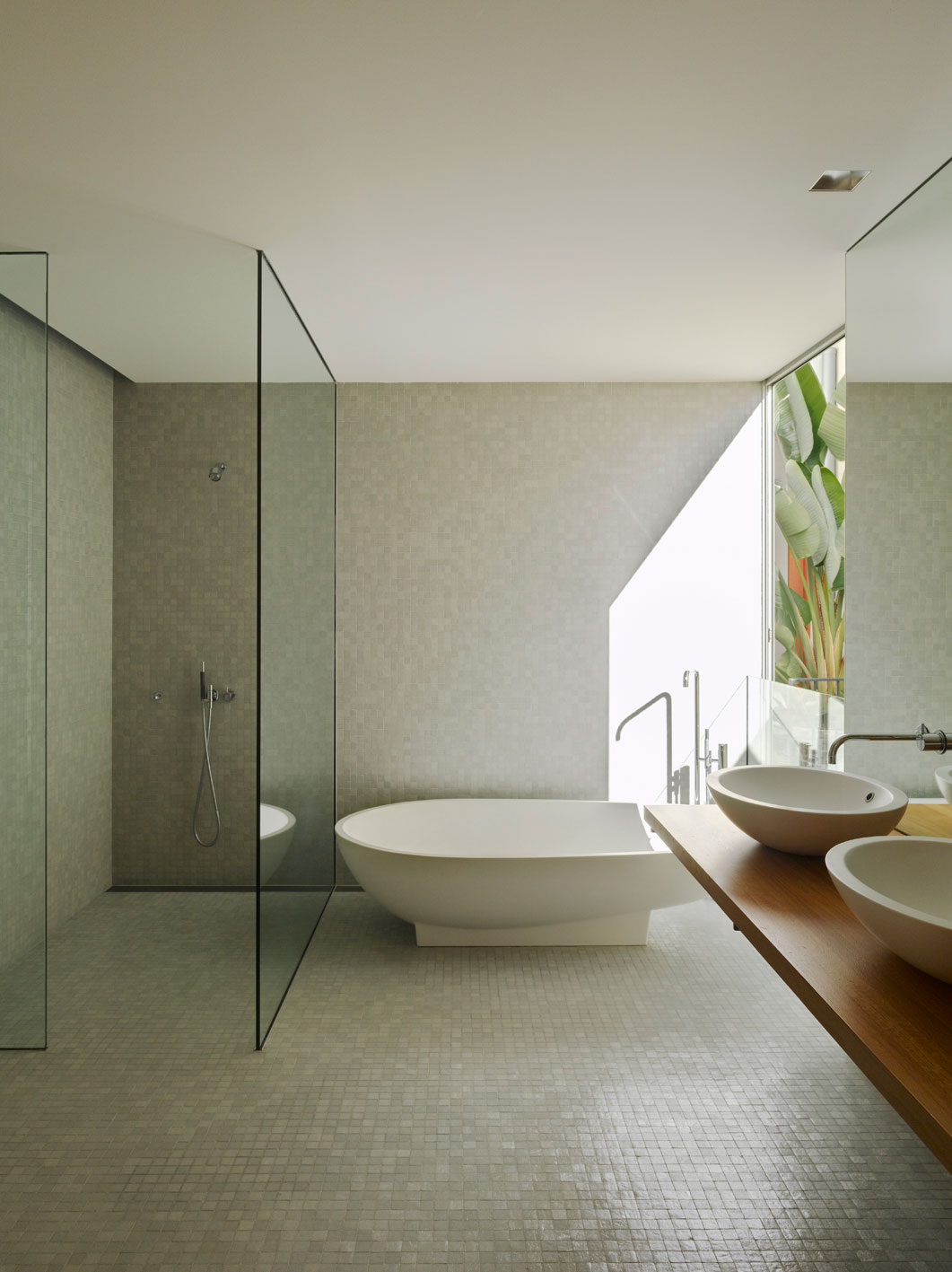 Ebenerdige Duschtasse 23 Natural Bathroom Decorating Pictures
