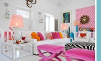 Turquoise Pink Living Room | www.pixshark.com - Images ...