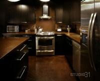 12 Playful Dark Kitchen Designs Ideas & Pictures
