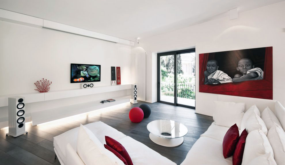 White Sofa Design Ideas \ Pictures For Living Room - white sectional living room
