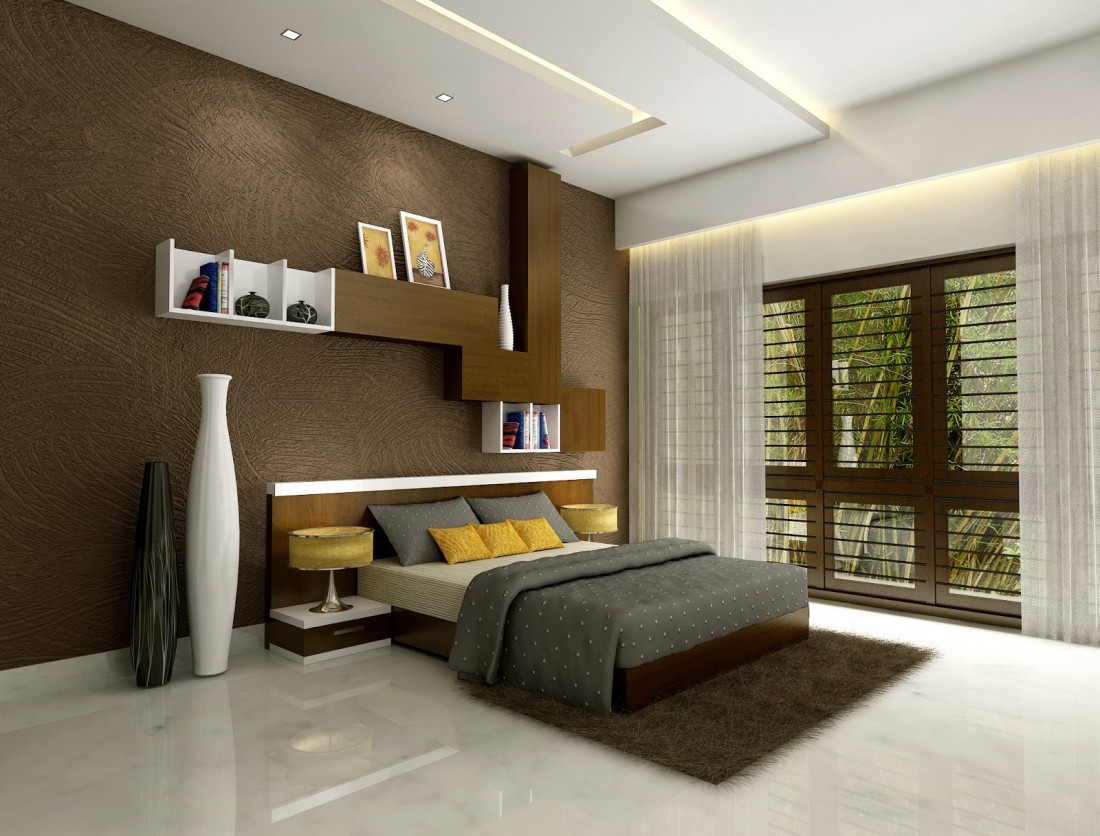 Modern Bedroom Walls 21 Beautiful Wooden Bed Interior Design Ideas