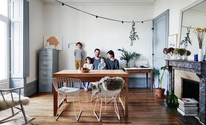 Simple But Wonderful Apartment of Aurelie Lecuyer