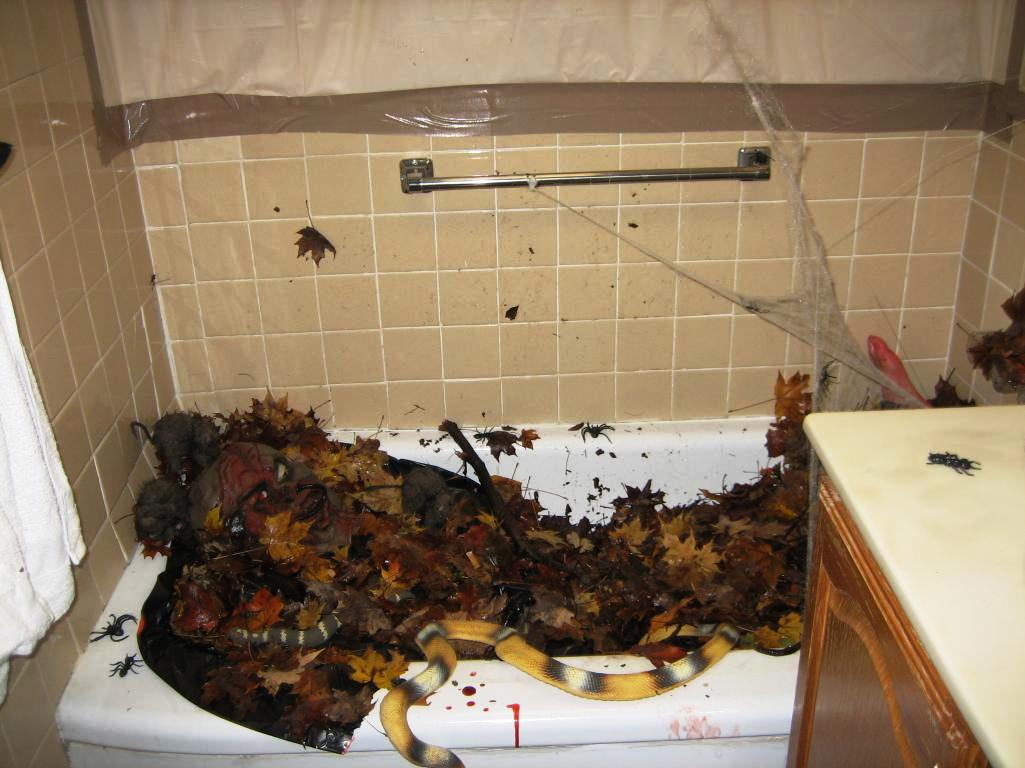 Bad Dekorieren Ideen Halloween Decorations Bathroom To Scare Away Your Guests