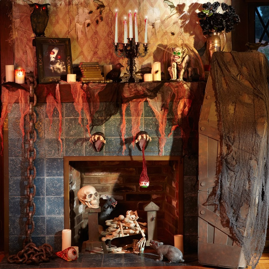 SaveEnlarge · Halloween Window Decorations Ideas ... & Haunted House Decorations Ideas - Elitflat
