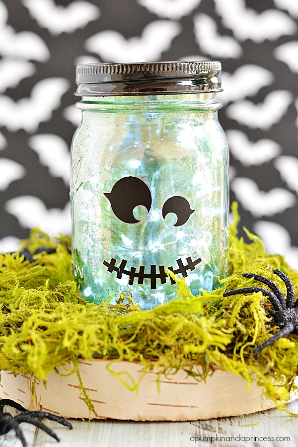 Wall Mirror Vintage Style 30 Ideas For Halloween Decoration Mason Jars To Impress