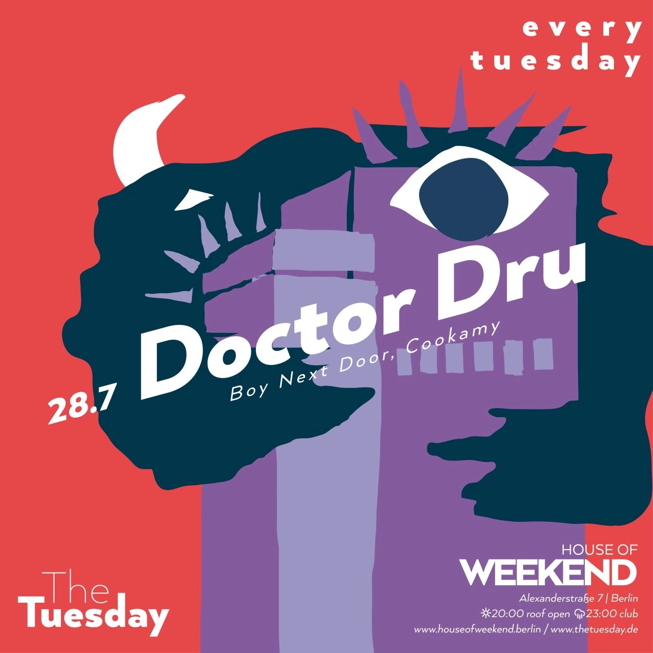 House Doctor Berlin Ra The Tuesday With Doctor Dru More Rooftop Club At