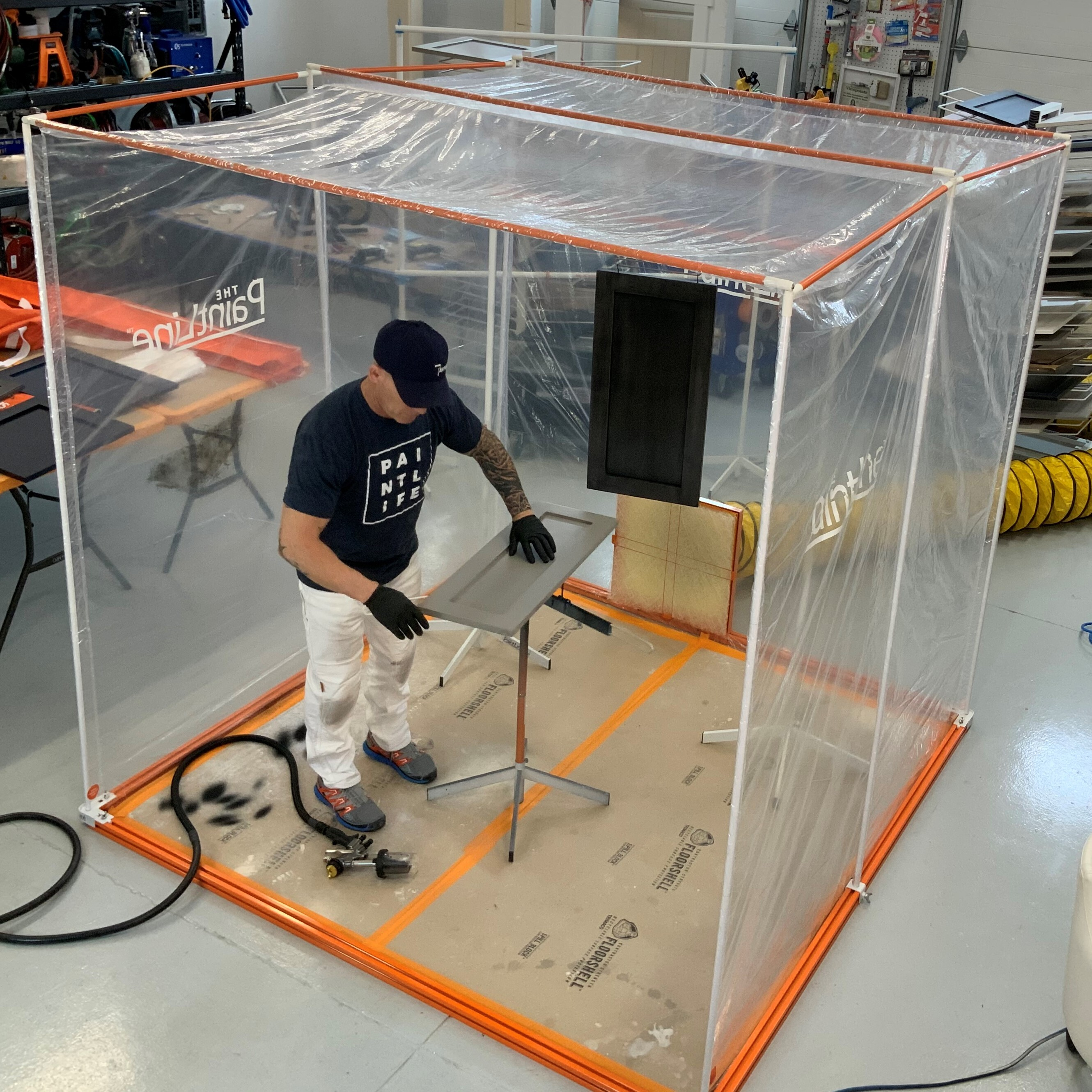 Paintline Releases Portable Jobsite Spray Booth Aimed At Reducing Time Cost Residential Products Online