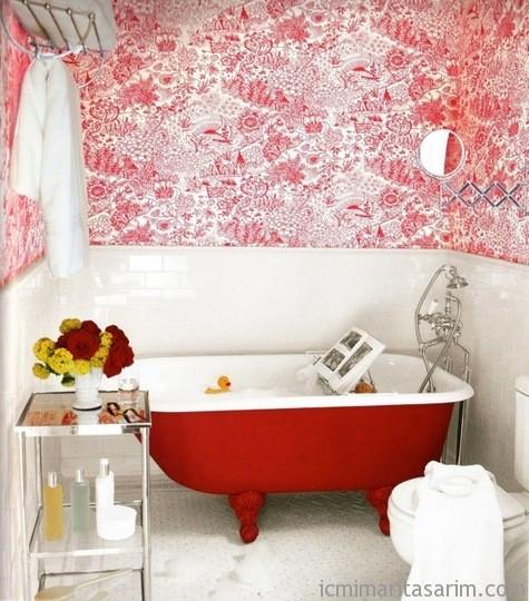 Parlak Ve Renkli Banyo Tasarım Fikirleri (22)