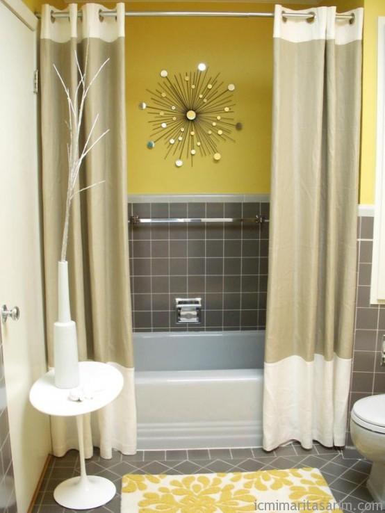 Parlak Ve Renkli Banyo Tasarım Fikirleri (30)
