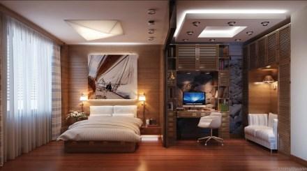 ahşap-yatak-odası-dekorasyonları