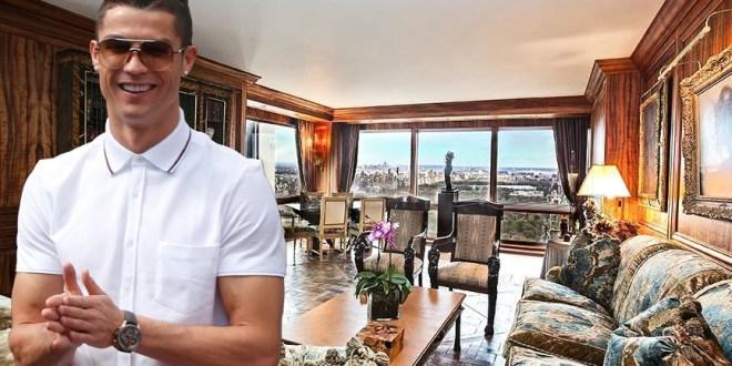 Cristiano Ronaldo'nun 18,5 Milyon Dolarlık Evi