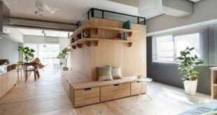 Modern Minimalist Japon Stili İki Daire  (4)