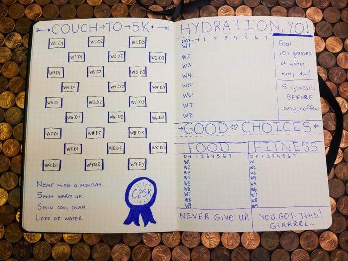 free food journals