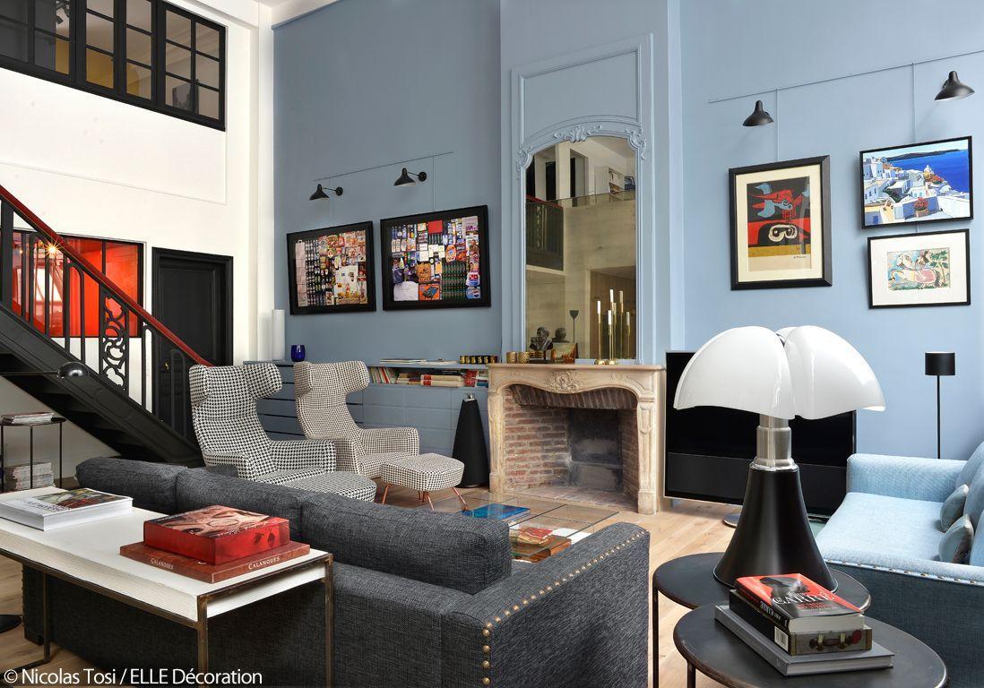 Lampe De Salon Bleu Turquoise