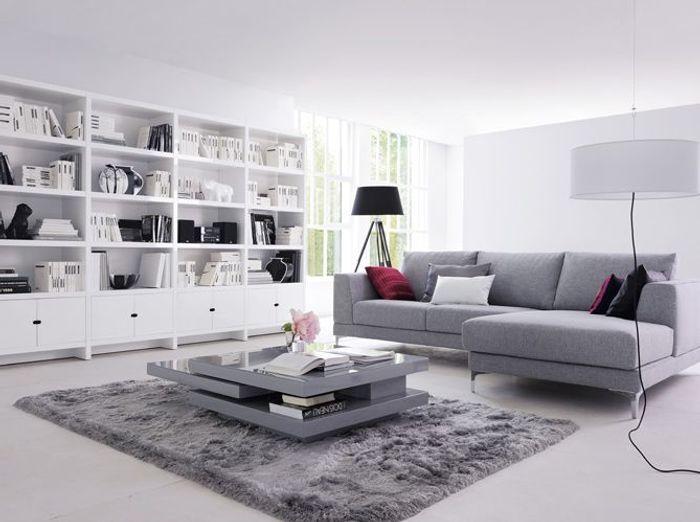 Salon Design Blanc