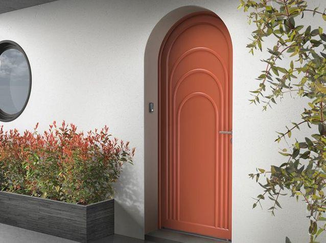 Des portes d\u0027entrée sympas - Elle Décoration - Oeil De Porte D Entree