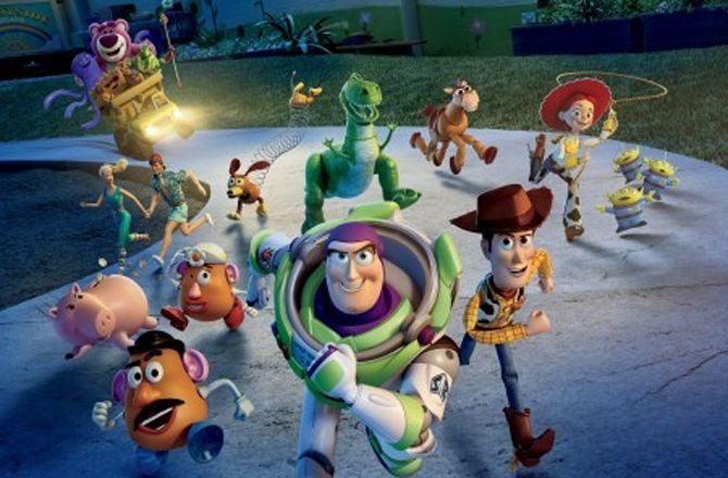 Toy Story 3 Canal Family Des Jouets Devenus Stars