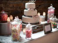 Des ides dco pour votre buffet de mariage - Elle Dcoration