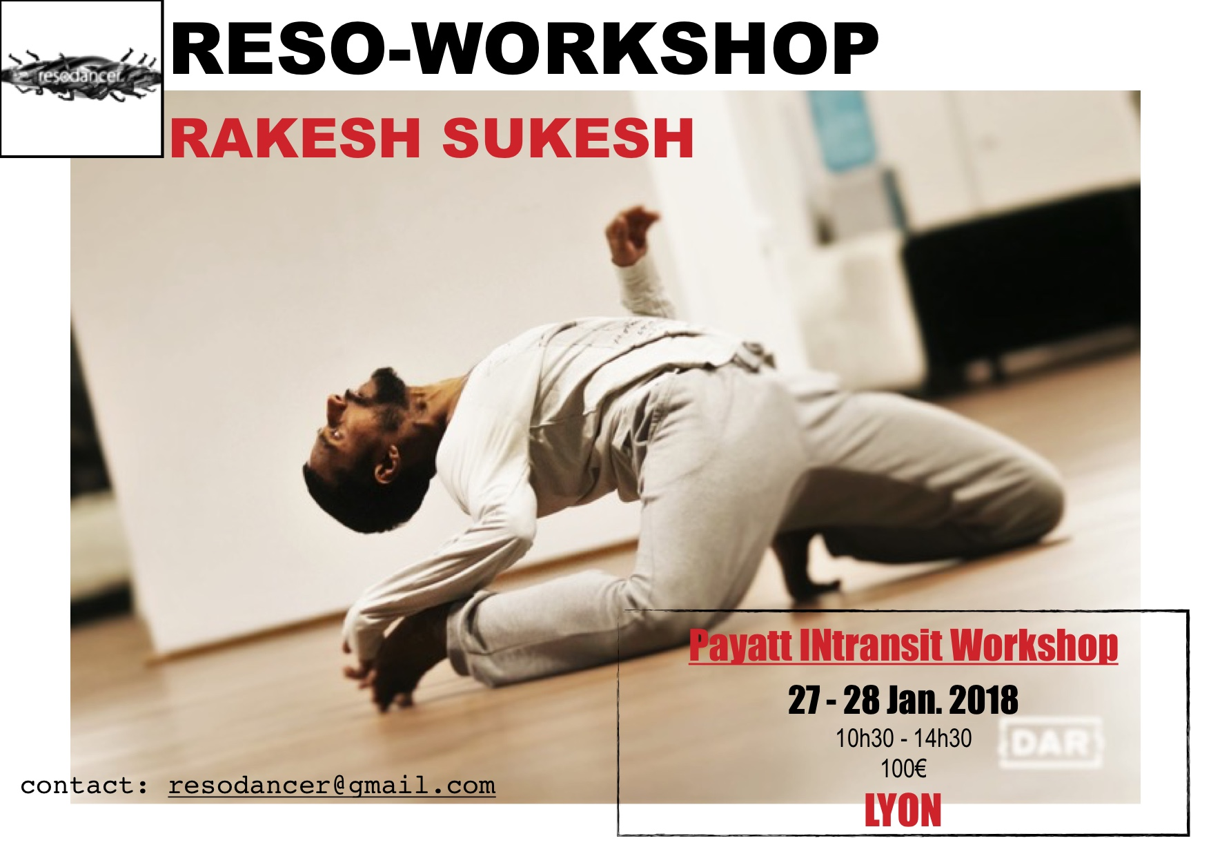Reso-Workshop Rakesh Sukesh 27 > 28 Jan.