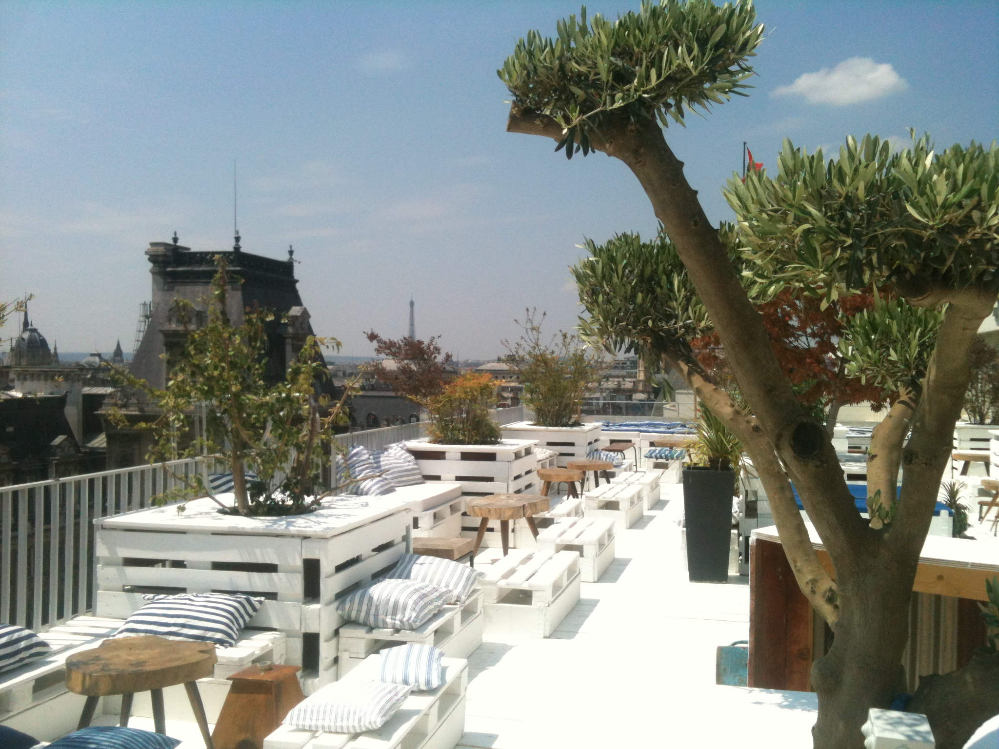Restaurant Paris Terrasse Sur Toit Rooftops De Paris Par Arrondissement - Reso Paris