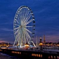 Dînez sur la Grande Roue de Paris avec Yannick Alléno