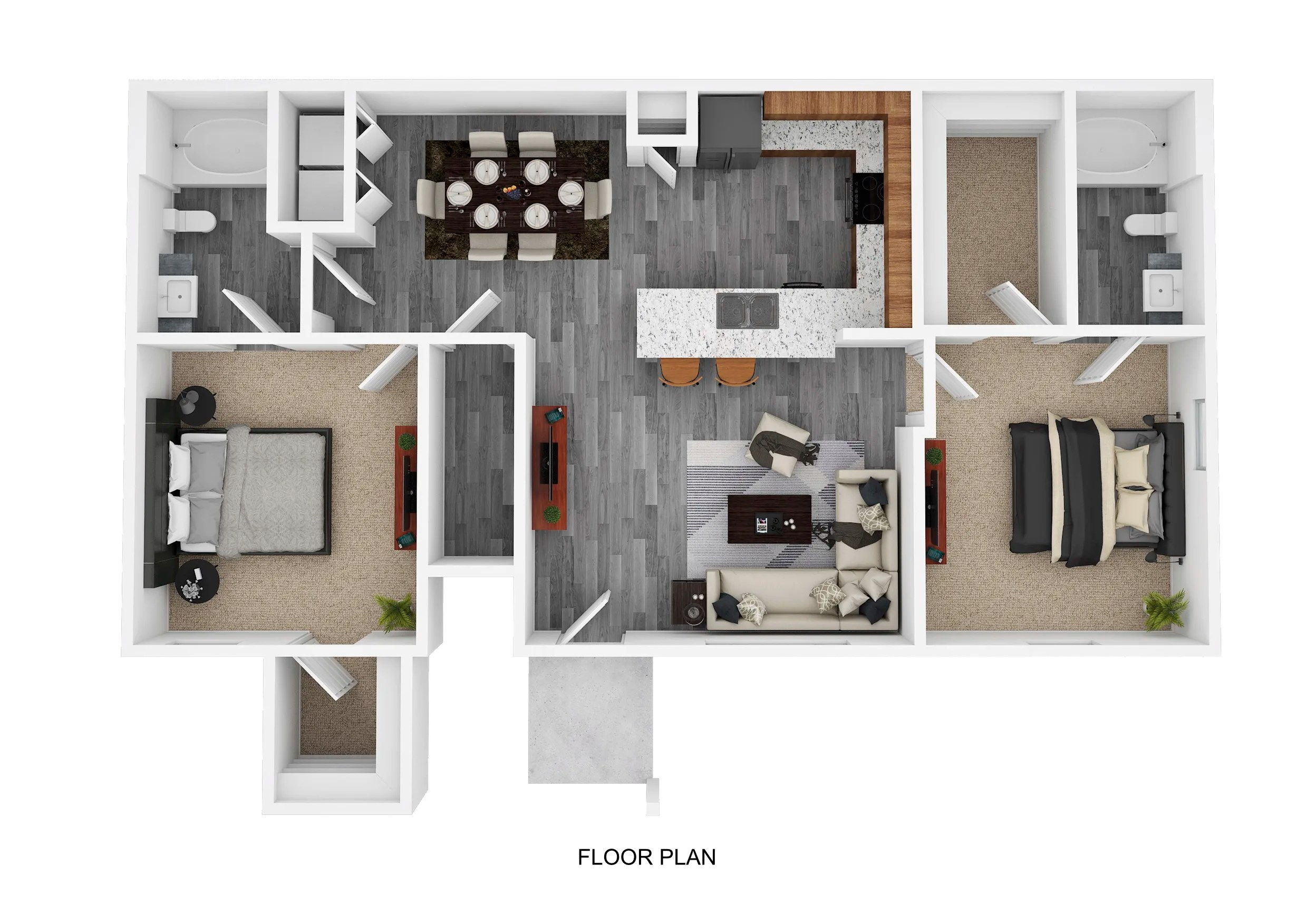 1 2 3 Bedroom Apartments In Pflugerville Tx The Emerson Apartments