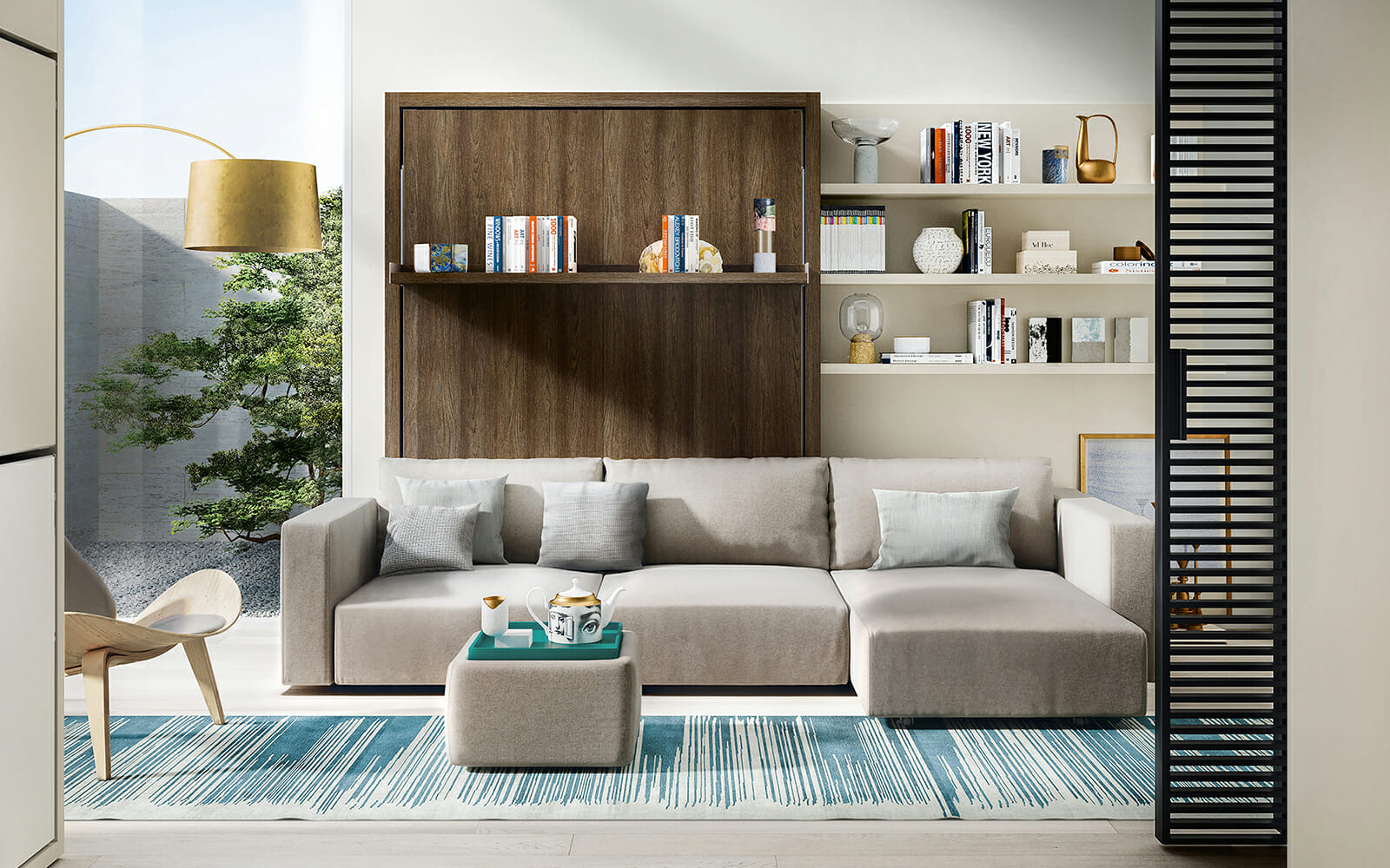 Wall Beds With Sofas Resource Furniture
